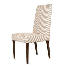 餐椅 楸木框架+布艺软包 芝系列 MD3206S W480*D610*H985 mm