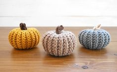 Crochet pattern pumpkins | crochet pumpkins