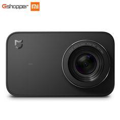 "Original Xiaomi Mijia Mini Camera Smart Small Cam Bluetooth 4.1 2.4"" 4K 30FPS 6 Axis Electronic Anti-Shake 145 Degree Wide Angle"