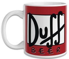 Caneca Os Simpsons Duff