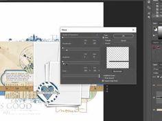 How to Tweak Shadows in Photoshop Part 1: Rippled Effect [Video] - Digital Scrapbooking Blog and scrapbook inspiration From DesignerDigitals