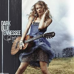 fan-made album cover. TS Dark Blue TN. Taylor Swift - Dark Blue Tennessee (Unreleased song)