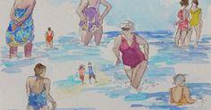 Plettenberg-2 | A Plus Watercolor | Pinterest