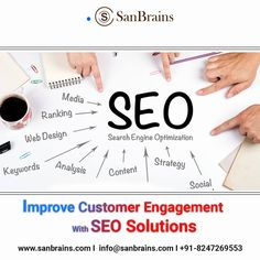 Start your journey with Sanbrains to get online success through best SEO services in Hyderabad. Upgrade your website, increase traffic and stay ahead of your competitors. With our innovative strategies and SEO services, we serve our clients with a unique approach that helps one in the revenue increments. #seoservicesinhyderabad #seoagencyinhyderabad Seo Services Company, Best Seo Services, Best Seo Company, Innovation Strategy, Seo Strategy, Social Media Marketing Companies, Digital Marketing Services, Seo Optimization, Search Engine Optimization