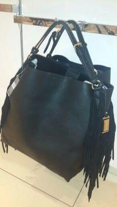 Gorgeous black tassel bag. Dec 2015