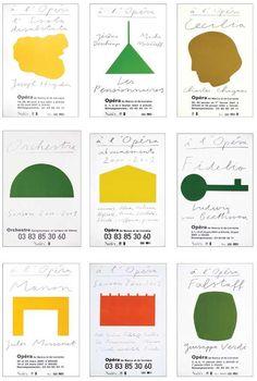 Paul Cox  Recherches Affiche Opéra de Nancy