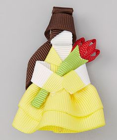 Another great find on #zulily! The Hair Candy Store Yellow Princess Clip by The Hair Candy Store #zulilyfinds