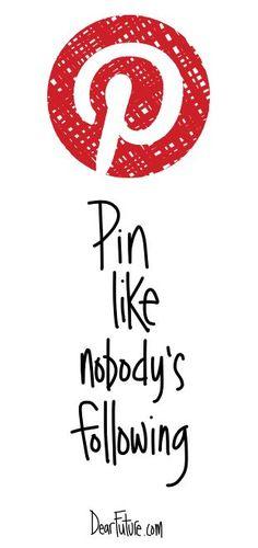 No pin limits!