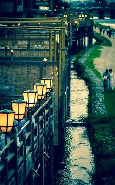 鴨川納涼(Kamo river) KYOTO, JAPAN