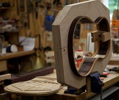 Acoustic Guitar Building Workshop  Where the things I love most are made!