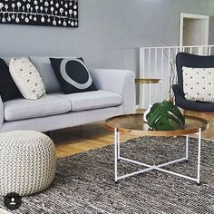 Living room #monochrome
