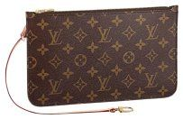 Louis Vuitton 2016 NEW MADE IN FRANCE Monogram MM GM Wrislet Pouch #0002