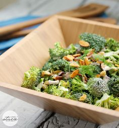 Broccoli Salad with Homemade Ranch Dressing