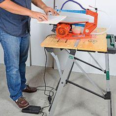 Pédale de mise en route de la scie à chantourner Scroll Saw, Dremel, Office Desk, Home Appliances, Furniture, Home Decor, Sculpter, Arts, Miniatures