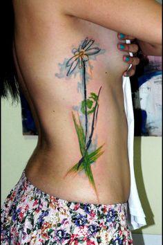 Watercolor Tattoo by Koray Karagozler.