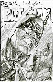 Batman by Alex Ross. Discover The Secrets Of Drawing Realistic Pencil Portraits... http://pencil-portrait-mastery-today.blogspot.com?prod=dtBr9eeM