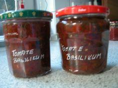 Tomaten - Basilikum - Chutney