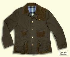 Takeo Kikuchi Japanese famous fashion designer's Hunting Jacket.