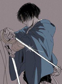 Anime Yugioh, Anime Pokemon, Manga Anime, Fanarts Anime, Anime Characters, Eren E Levi, Attack On Titan Levi, Armin, Levi Mikasa