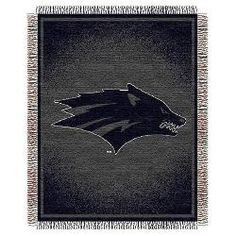 "Nevada Wolf Pack NCAA Triple Woven Jacquard Throw (019 Focus) (48x60"")"