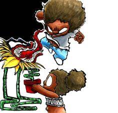 #blackboyjoy #bhm #blackheroesmatter #iltopia #blerd #webcomic #blackgirlmagic