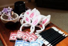 bunny ears and magic wands