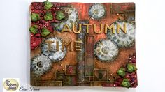 """Chattering Robins: Art Journal """"Autumn Time"""""""