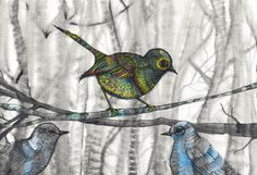 new art print by melanie dann little bird little bird
