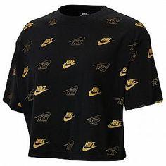 Nike Sportswear Women's Cropped T Shirt Girls Fall Outfits, Nike Outfits, Retro Outfits, Sport Outfits, Sweat Shirt, T-shirt Crop, Crop Tops, Nike T Shirts Women's, Cute Sweatpants