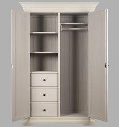 armario ropero blanco antiguo - vilmupa