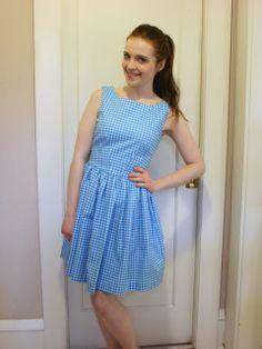 Dressmaking: Zooey Deschanel/New Girl style dress