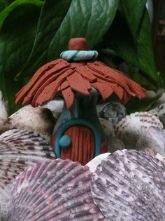 Fairy House by Sandy's Creations in Clay