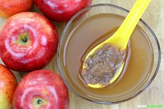How Apple Cider Vinegar Diet Aids in Weight Loss. For those who are not too familiar with apple cider vinegar or ACV, it is simply vinegar that's made from. Homemade Apple Wine Recipe, Apple Recipes, Wine Recipes, Apple Cider Uses, Apple Cider Vinegar Diet, Apple Health Benefits, Apple Cider Benefits, Diet Aids, Vinegar And Honey