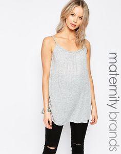 New+Look+Maternity+Plaited+Trim+Vest