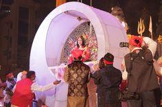 Shri Radhe Guru Maa in divine Vessel during her birth celebration in Mumbai on 3 march 2013