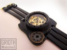 Steamwatch the I-VY. Steampunk, gothic watch by GRIOTH