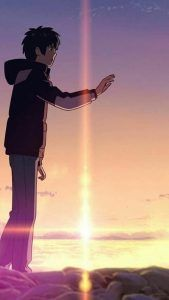 List of Easy Anime Wallpaper IPhone Scenery 37 Ideas kimi no na wa wallpaper couple - iPhone X Wallpapers Animes Wallpapers, Cute Wallpapers, Mitsuha And Taki, Your Name Wallpaper, Cute Couple Wallpaper, Matching Wallpaper, Bedroom Wallpaper, Tree Wallpaper, Wallpaper Lockscreen