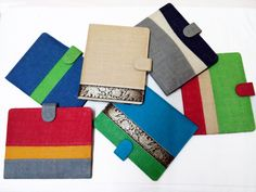 i-pad covers with an eco friendly twist.