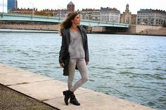 Shade of grey on my blog http://www.marieandmood.com/2014/11/shade-of-grey.html @balsamik  Ootd - Outfit - Mode -Fashion - Blogger