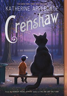 Crenshaw by Katherine Applegate. In her first novel since winning the Newbery Medal, Katherine Applegate delivers an unforgettable and magical story about family, friendship, and resilience. Great Books, New Books, Books To Read, Amazing Books, Mythos Academy, One And Only Ivan, Jackson Life, Newbery Medal, Newbery Award