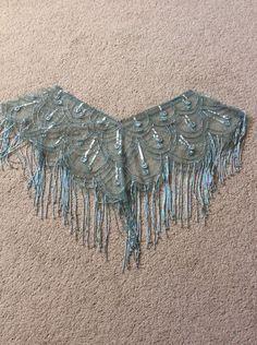 Shrug/Bolero/Cape Sequins & Beads Very Pretty Vintage Style From Debenhams