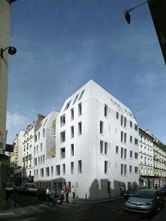 15 logements + crèche, Paris (75) : RAUM