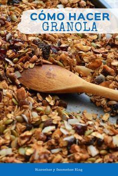Healthy Snaks, Good Healthy Snacks, Yummy Snacks, Healthy Cooking, Snack Recipes, Cooking Recipes, Granola Cereal, Vegetarian Recipes, Healthy Recipes