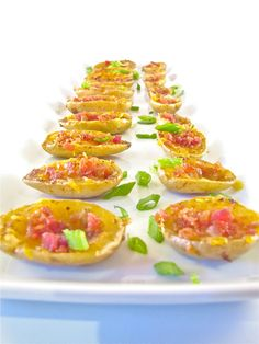 ChowGals: Mini Potato Skins with Horseradish Dipping Sauce