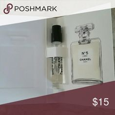 Chanel Authentic No. 5 Eau DE Toilette NWT Sample size.  Perfect for travel.   Brand new. CHANEL Makeup