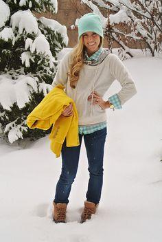 aBree Fashion: snow storm