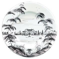 Juliska Country Estate Dinner Plate- Main House in Tabletop Country Estate, Country Life, Casual Dinnerware, Bliss Home And Design, Blue Dinner Plates, Delft, Maine House, Country Primitive, Gourmet