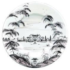 Juliska Country Estate Dinner Plate- Main House in Tabletop