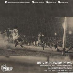 #IndependienteHistorico En Villa Crespo, por la fecha 9 del Nacional, #Independiente derrota a #Atlanta por 2 a 0