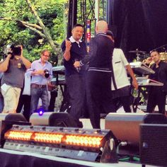 Backstage moment @goodmorningamerica with @Sandy Geiser #willsmith and #jadensmith! #gmapitbull